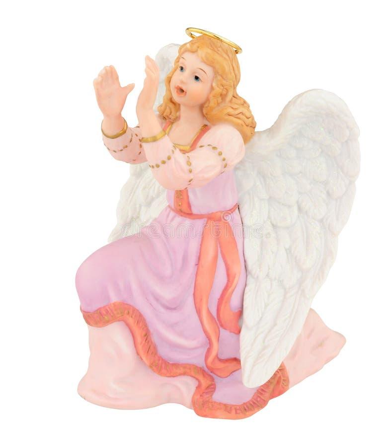 Natividad Angel Figure de la Navidad imagen de archivo