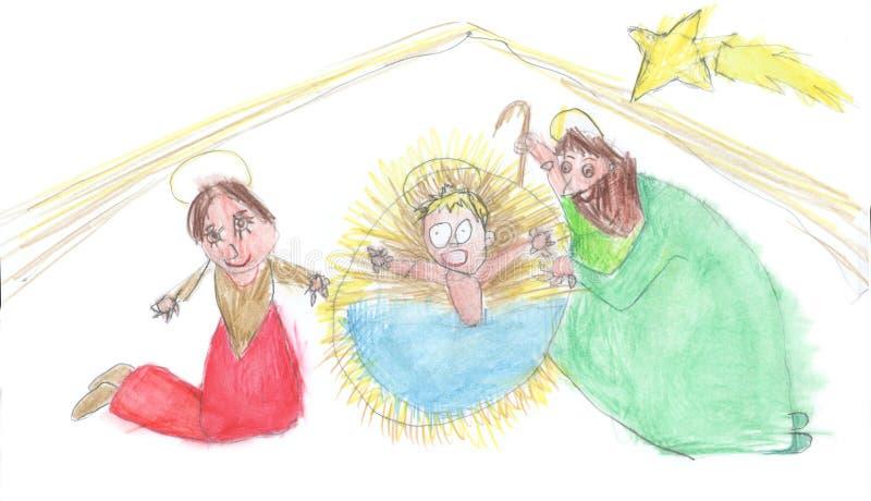 Natividad de la Navidad fotos de archivo libres de regalías