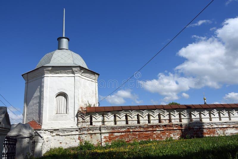 Natividade do monast?rio do Virgin da cidade de Vladimir, R?ssia fotos de stock royalty free