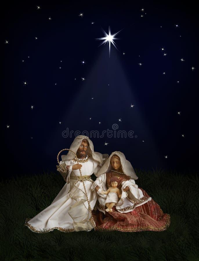Natividade do Natal imagens de stock royalty free