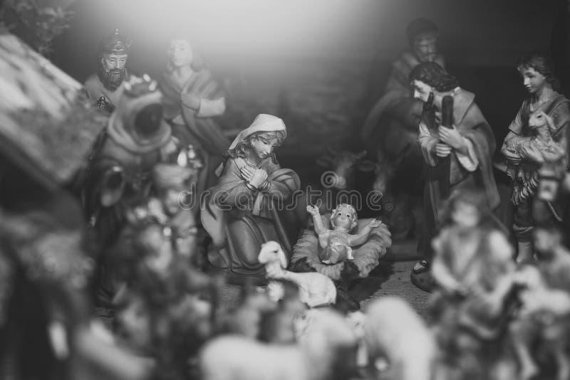 Nativité de Jésus photographie stock