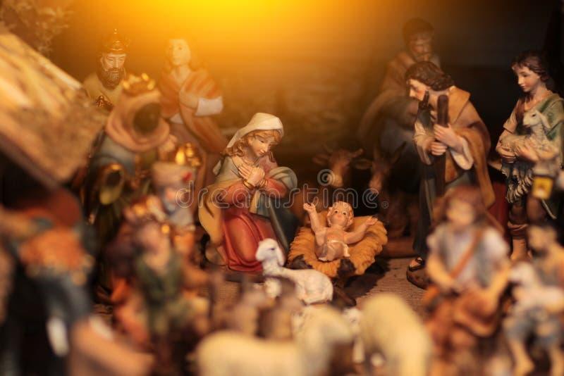Nativité de Jésus photo stock