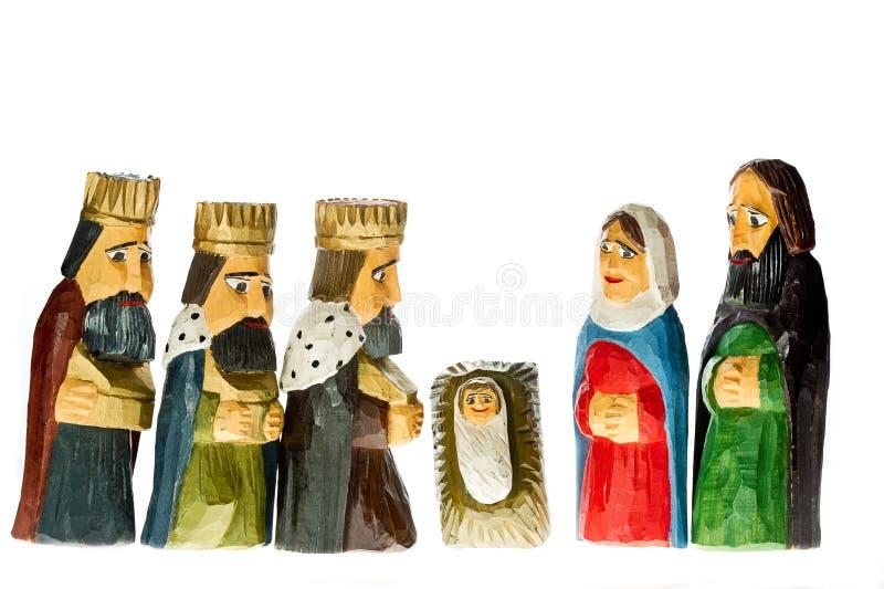 Nativité de Noël photos libres de droits