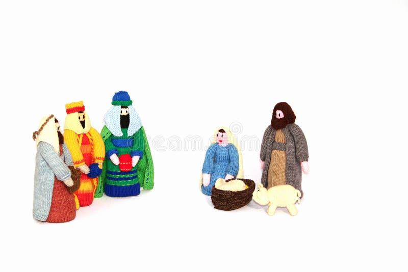 nativité de Noël photographie stock