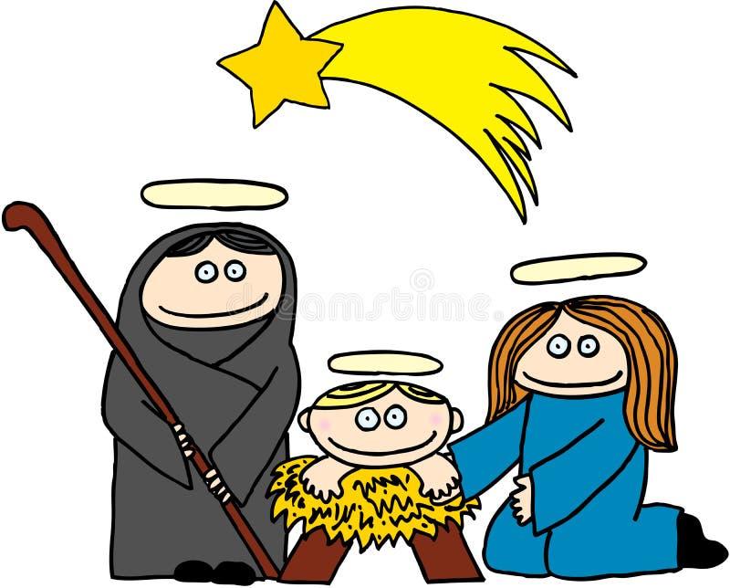 Nativity royalty free illustration