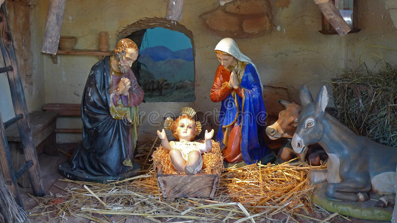 Download Nativity stock image. Image of jesus, mule, roman, cattolic - 11987609