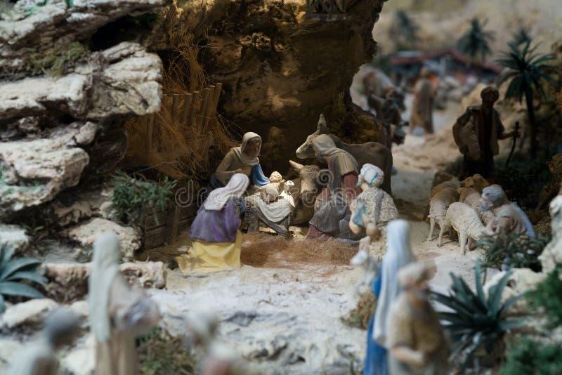 nativity royaltyfria bilder