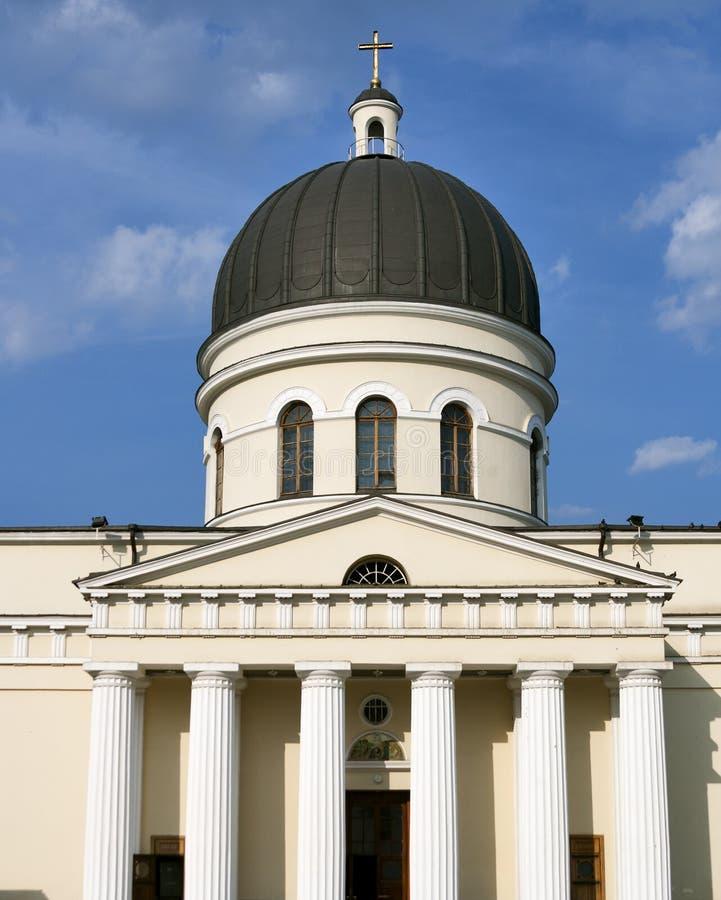 Nativity Cathedral, Chisinau stock photos