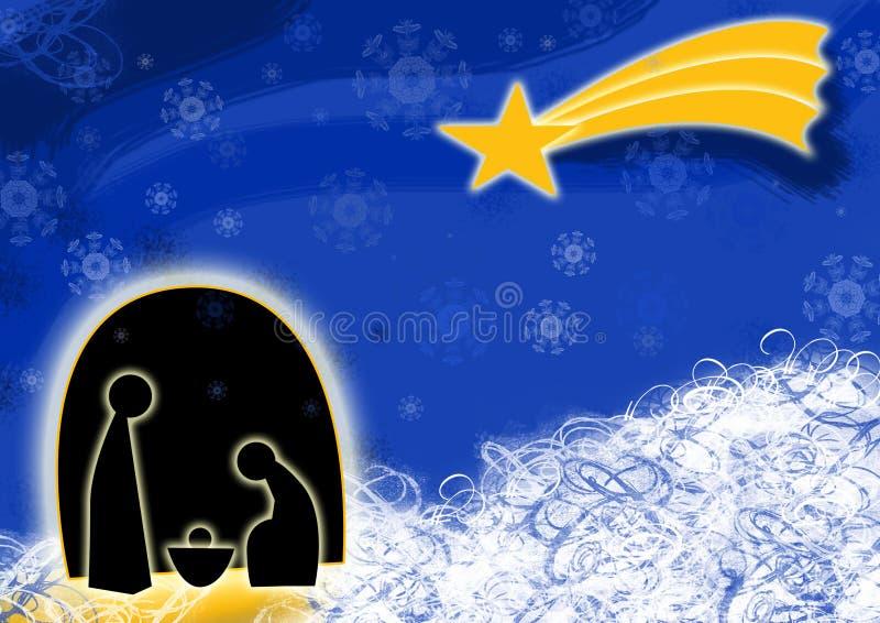 Nativity Christmas stock image