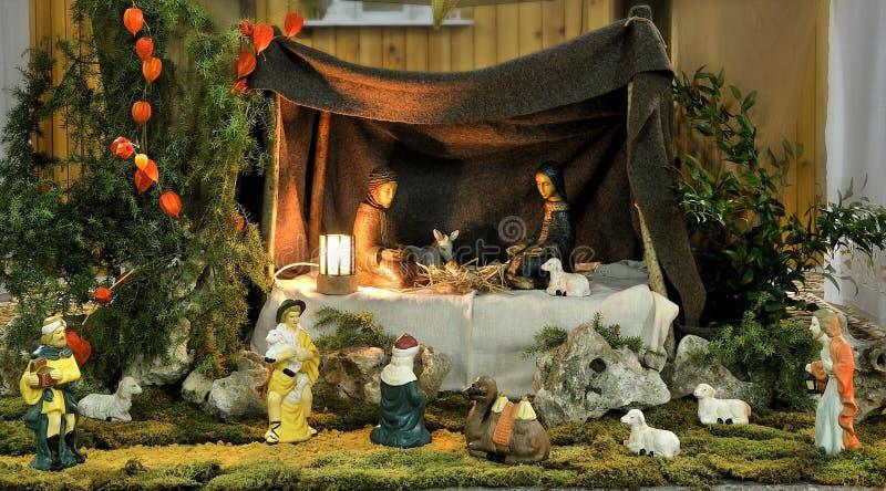 nativity fyra royaltyfri fotografi