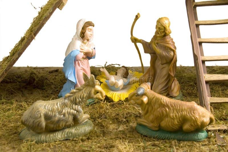 Nativity and holy family stock photography