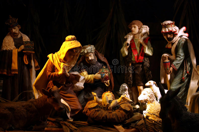 Download Nativity Scene stock image. Image of christ, biblical - 15646429