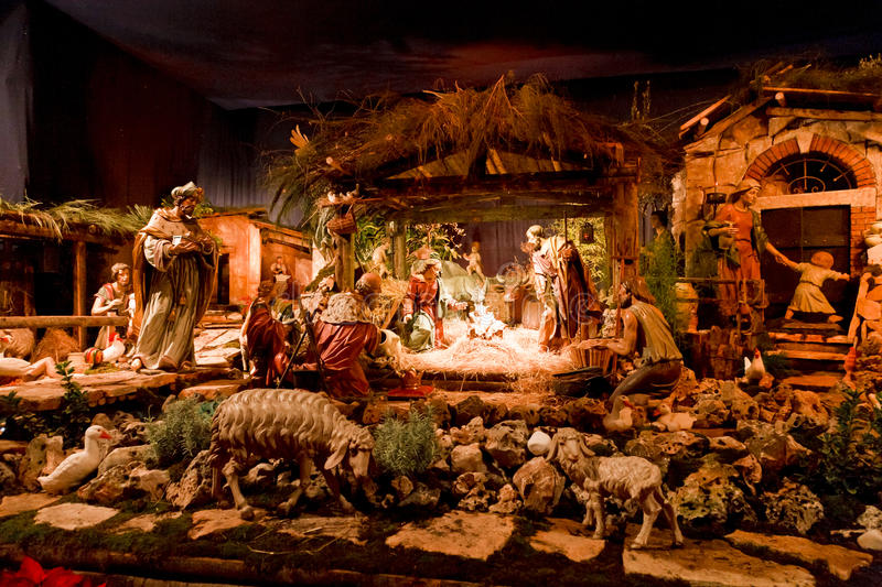 Download Nativity Scene stock photo. Image of traditional, tradition - 19268014