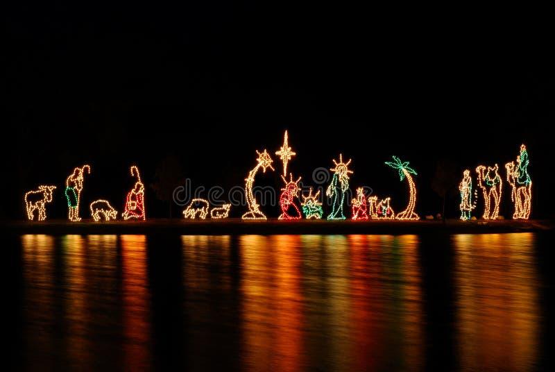 nativity scene στοκ φωτογραφίες με δικαίωμα ελεύθερης χρήσης