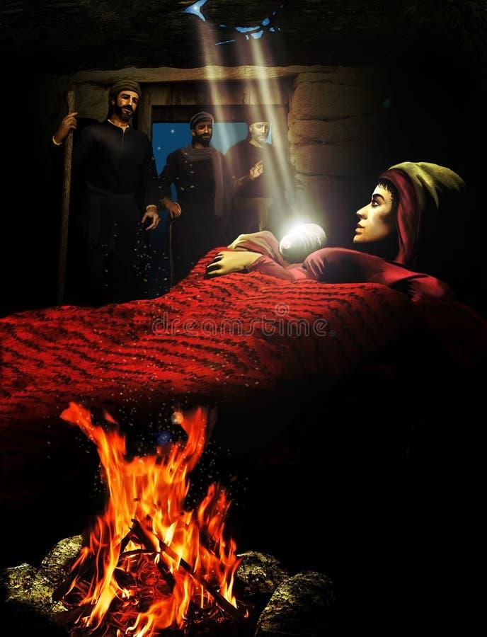 Download Nativity stock illustration. Illustration of december - 35894454