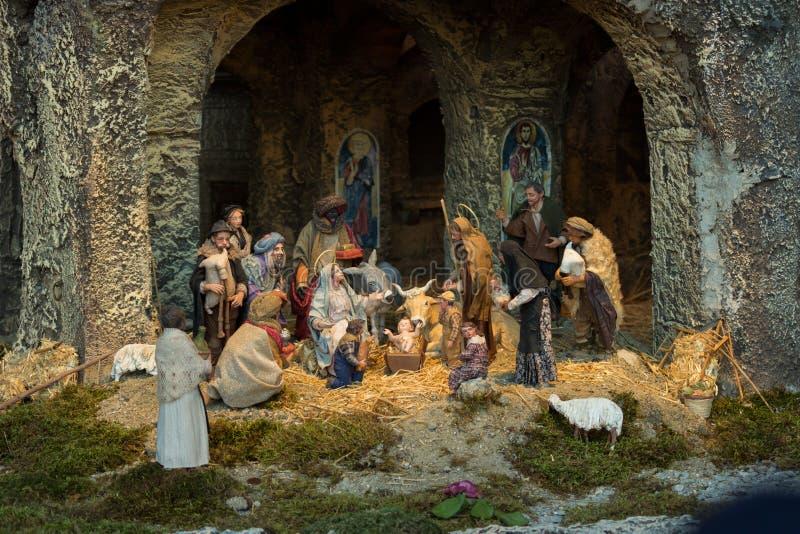 Nativity van Vatikaan royalty-vrije stock afbeelding