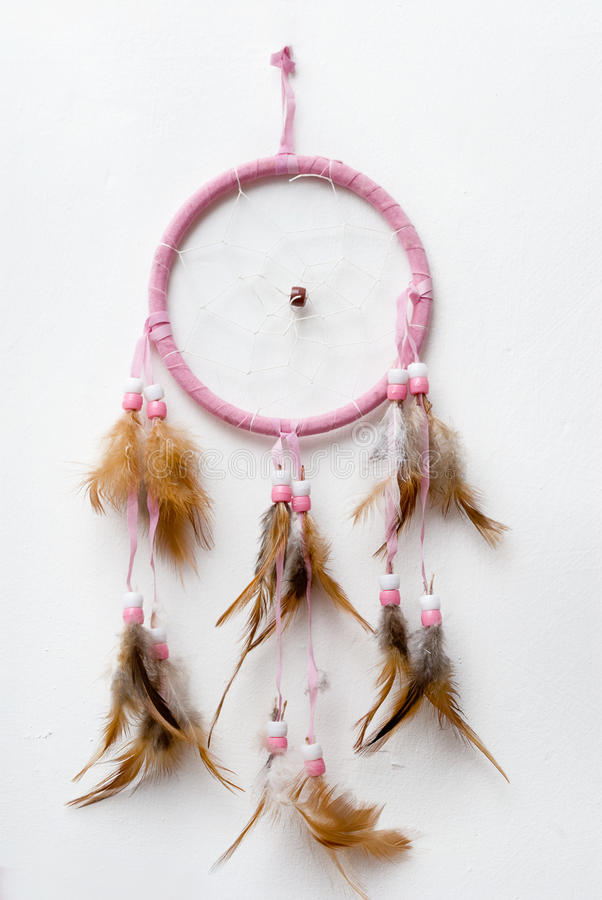 Nativo americano Dreamcatcher. fotografia stock