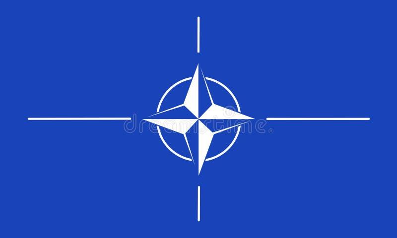 NATO-WSKI royalty ilustracja
