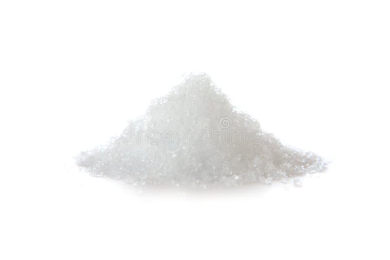 Natrium-thiosulfate auf Weiß lizenzfreies stockbild