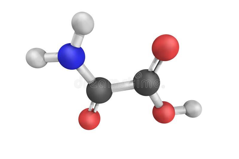 Natriumoxalaat, of disodium oxalaat, als primaire norm wordt gebruikt die royalty-vrije stock afbeeldingen