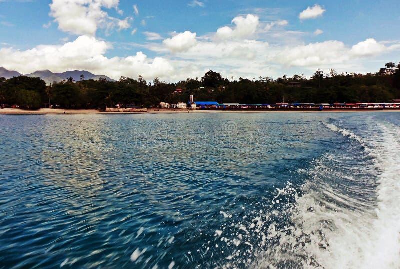 Natsepa Beach royalty free stock image