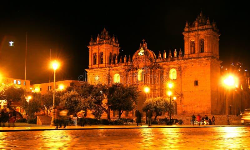 Plaza de Armas de Cusco, Peru royaltyfria bilder