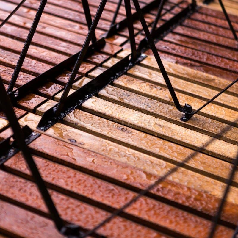 Natte houten samenvatting stock afbeelding