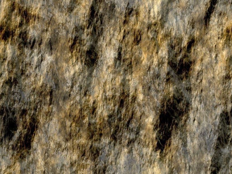 Natte rots stock illustratie