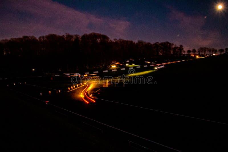 Natten samlar arkivbilder