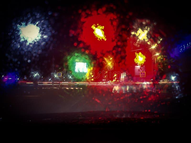 Nattfärger royaltyfri foto