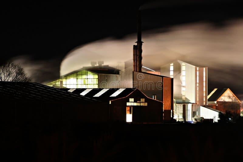 Download Nattförskjutning fotografering för bildbyråer. Bild av industriellt - 984019
