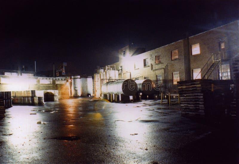 nattförskjutningsworking royaltyfri fotografi