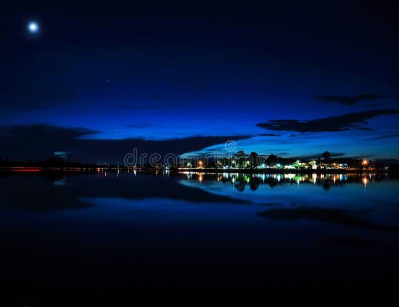 Nattlampor. arkivbild