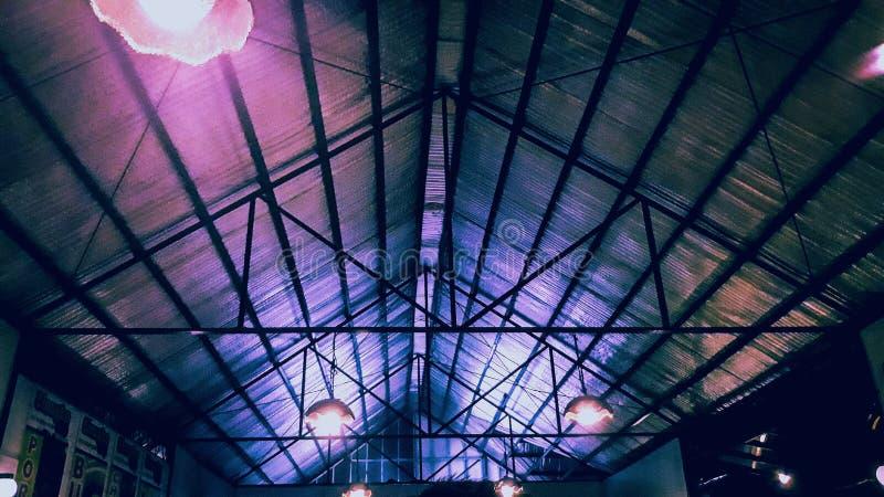 Nattljus fotografering för bildbyråer