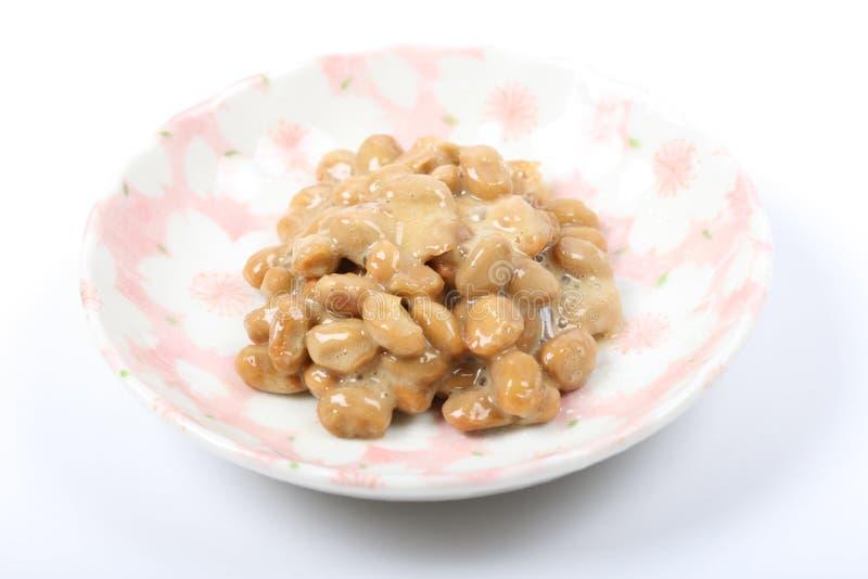 natto日本食物  免版税库存照片