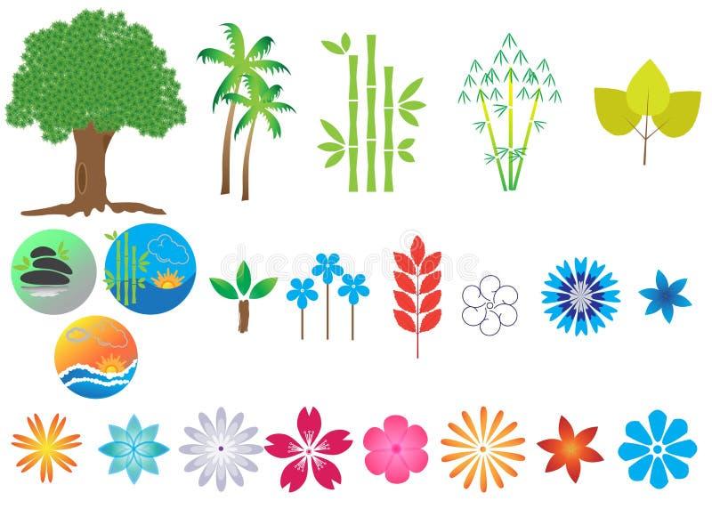 Natur stock illustrationer