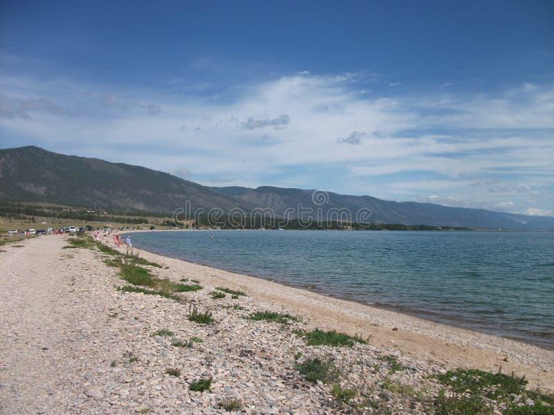 Natur av det stora Laket Baikal arkivfoton