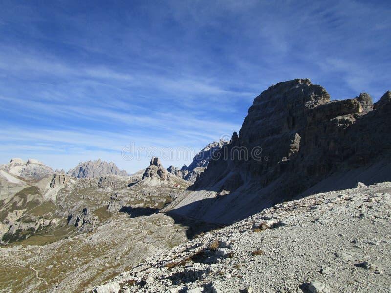 Natur - Dolomit stockbilder