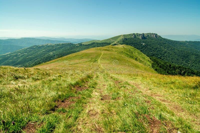 Natur i Serbien Stara Planina arkivbilder