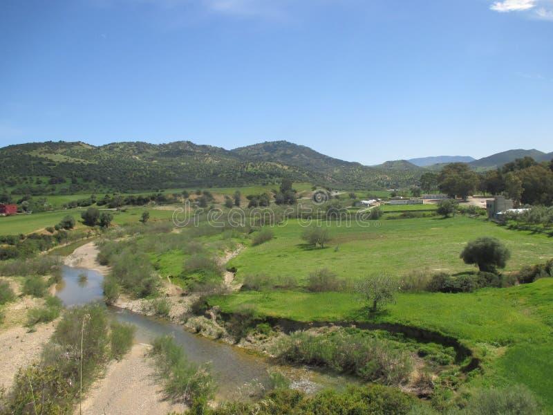 Natur Marokko stockbilder