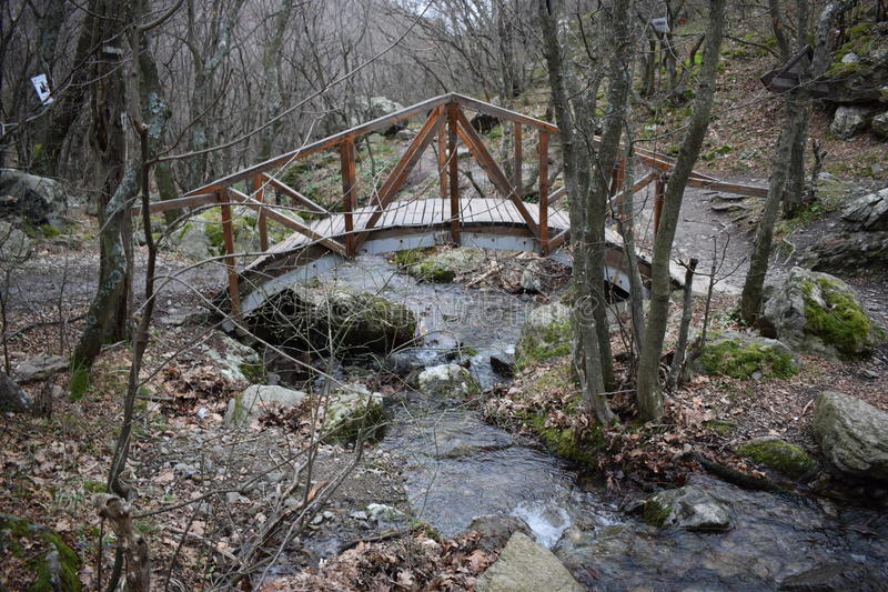 Natur-Park ` blaue Felsen ` - Bulgarien, Sliven lizenzfreie stockfotografie