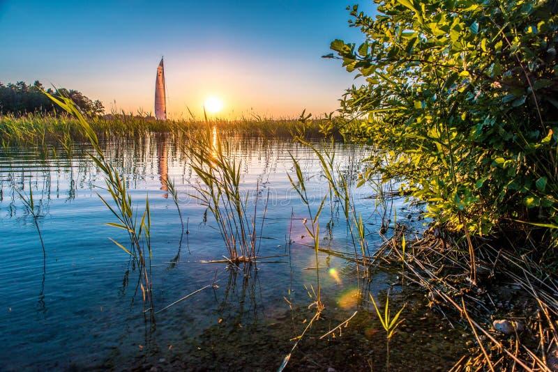 Natur sjö royaltyfri foto