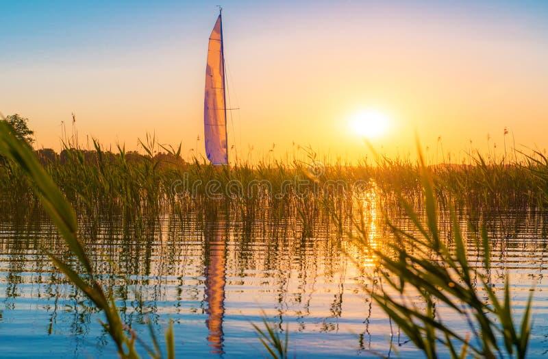Natur sjö arkivbilder