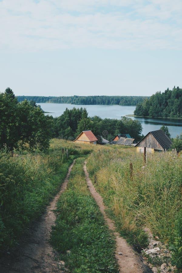 Natur von Valdai lizenzfreies stockfoto