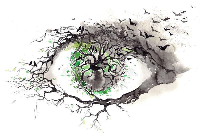 Natura royalty ilustracja