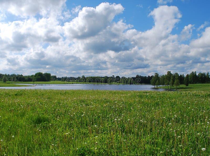 Natura al distretto di Kuldiga. fotografie stock
