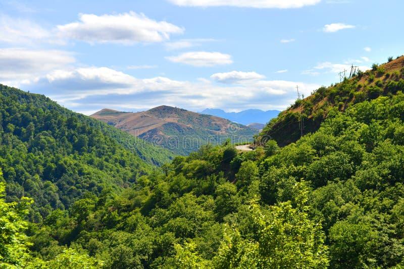 Natura dell'Azerbaigian fotografie stock libere da diritti
