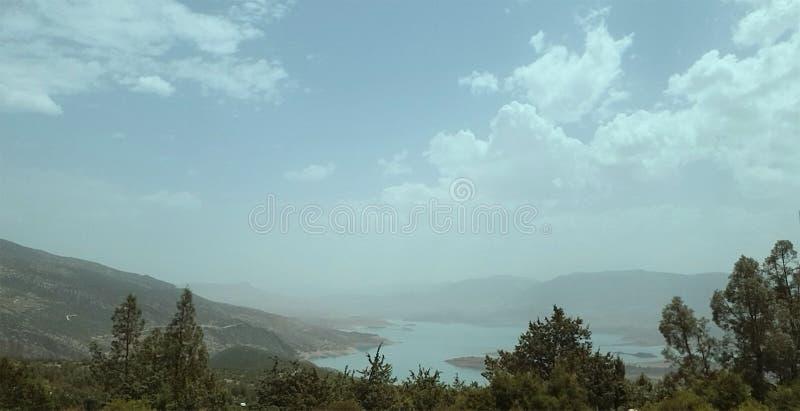 Natura della montagna fotografia stock