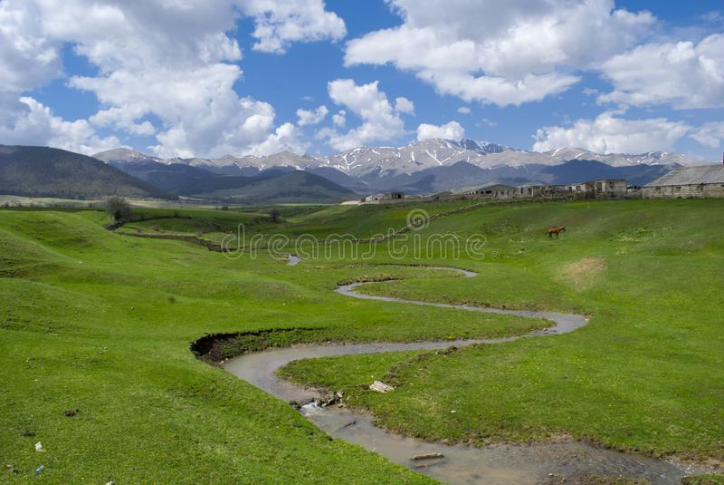 Natura di Lori Province, Armenia fotografia stock