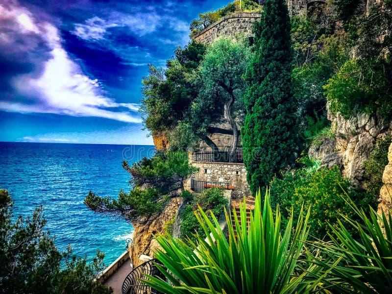 Natura di Monte Carlo fotografie stock